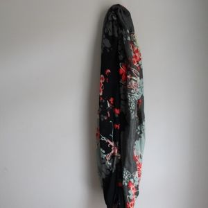 Kimchi Blue Floral Infinity Scarf
